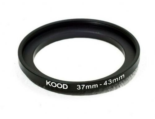 Kood Stepping Ring 37mm - 43mm Step Up Ring 37-43mm 37mm to 43mm Ring